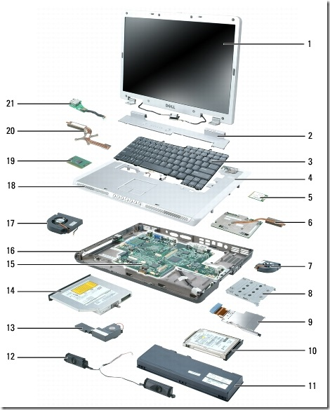 laptop computer parts